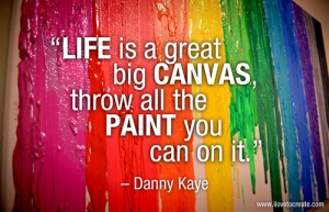 Danny Kaye creativity quote