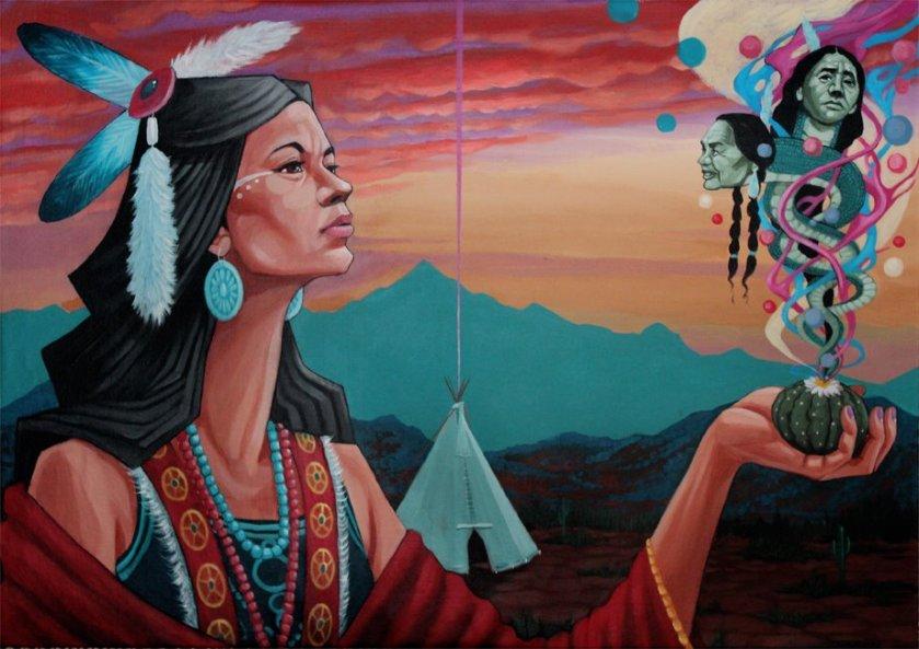peyote-woman